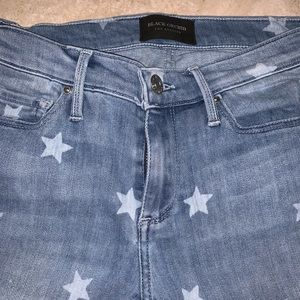 Black Orchid Lucky Star Skinny Jeans Size 25